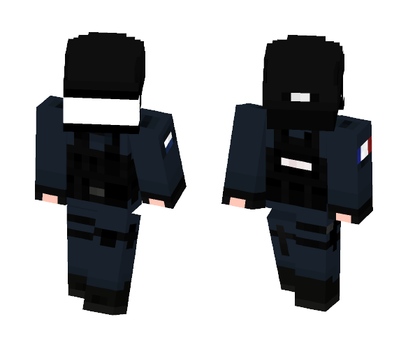 GIGN - Male Minecraft Skins - image 1