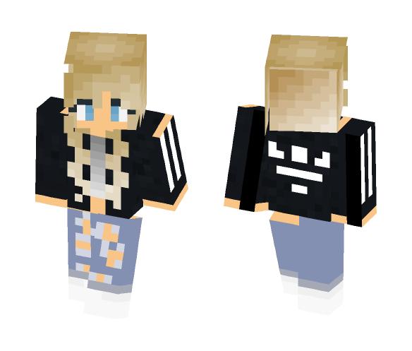 ☆Cute Adidas Girl☆ - Cute Girls Minecraft Skins - image 1