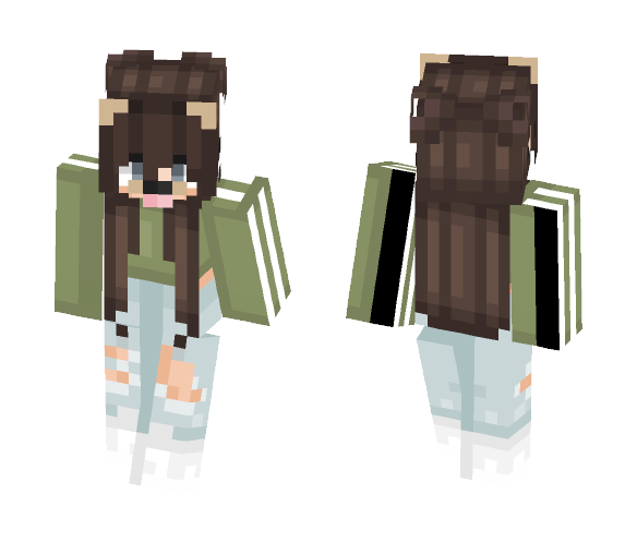 get šøβξΓ cute tumblr girl minecraft skin for free