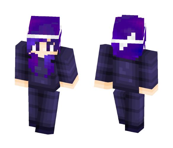 Galaxy hair - Female Minecraft Skins - image 1