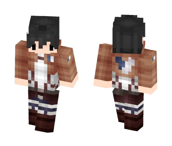 Download Attack on titan: Eren (chibi) Minecraft Skin for ...