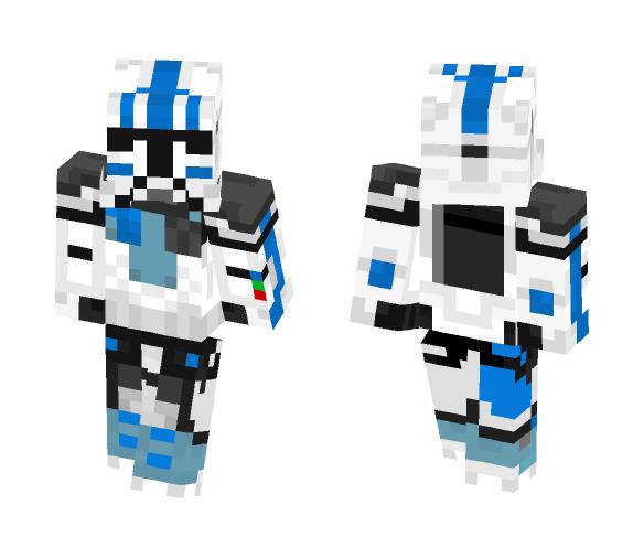 ARC Trooper Echo - Male Minecraft Skins - image 1