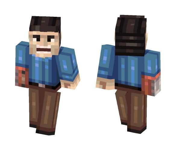 Ash Williams - Male Minecraft Skins - image 1
