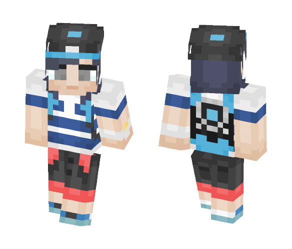 Sun Pokemon Sun & Moon - Male Minecraft Skins - image 1