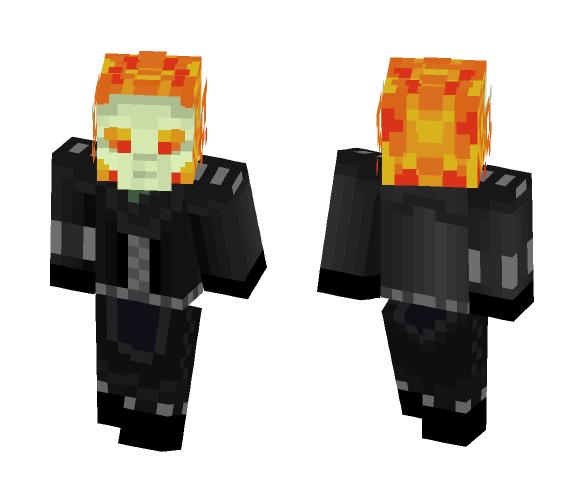 Ghost Rider - Male Minecraft Skins - image 1