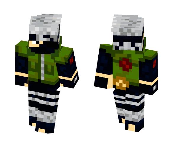 Kakashi Improved - Male Minecraft Skins - image 1