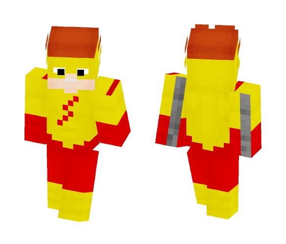 Kid Flash(Classic) - Male Minecraft Skins - image 1