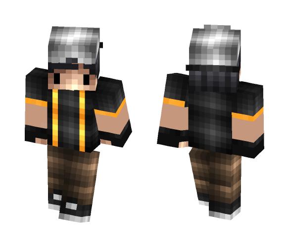 Derp Gangster - Male Minecraft Skins - image 1