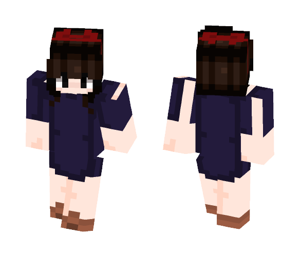 kiki from kiki's delivery service - Female Minecraft Skins - image 1