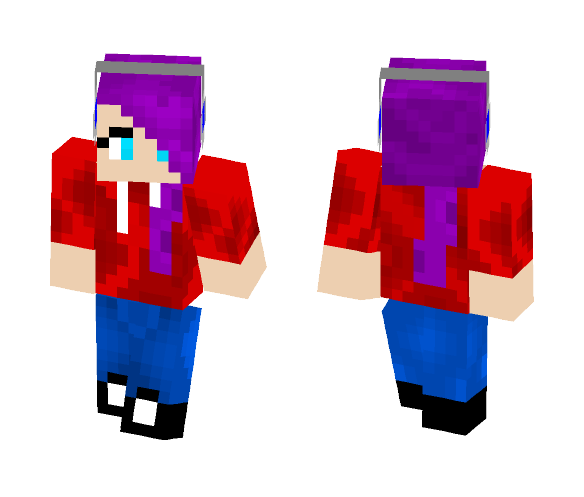My first shaded skin X( - Female Minecraft Skins - image 1
