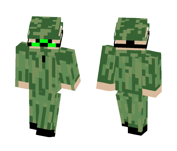 Futuristic Sniper (Omnic Force) - Interchangeable Minecraft Skins - image 1