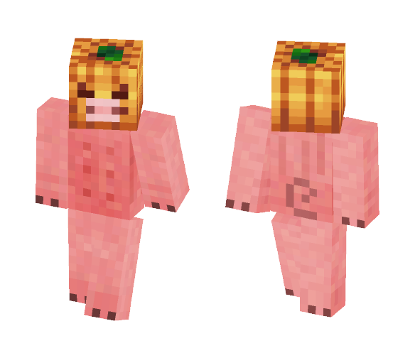 Halloween Pig - Halloween Minecraft Skins - image 1