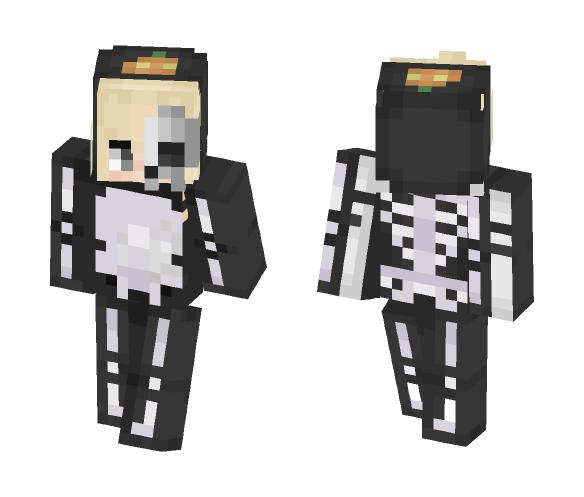 Blonde Halloween Skin - Boy VERSION - Boy Minecraft Skins - image 1