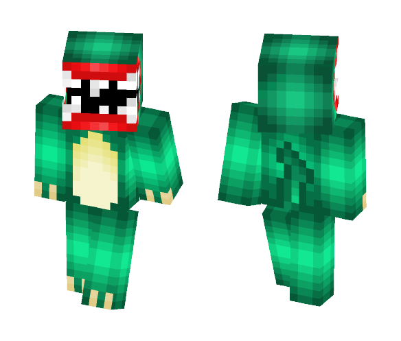 Man Eating Monster - Male Minecraft Skins - image 1