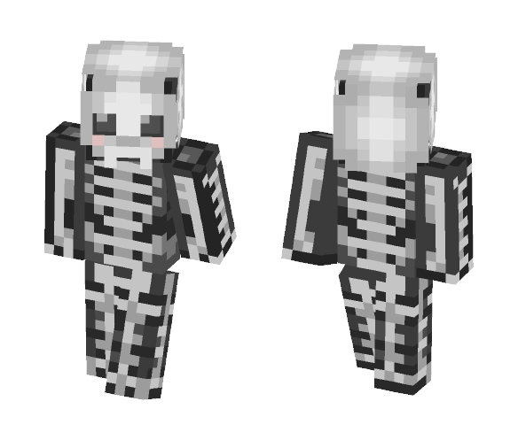 Download Cute Halloween Skeleton Minecraft Skin for Free ...  Minecraft Cute Skeleton