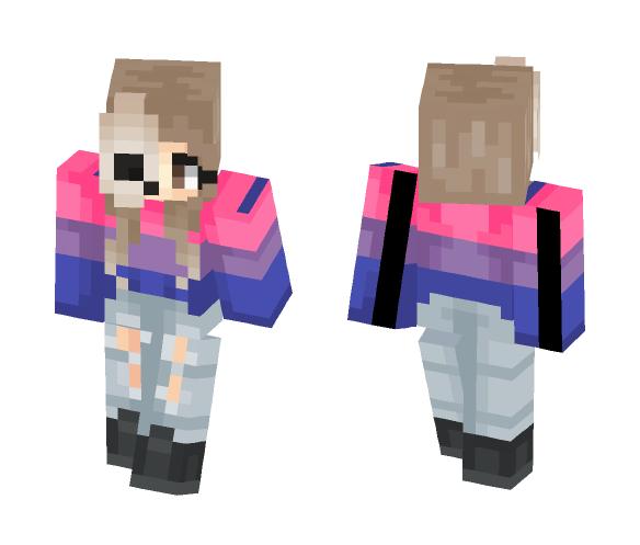 ~Bi Pride~ - Female Minecraft Skins - image 1