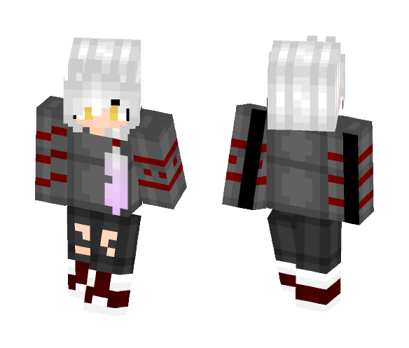 Though It's The End of The World - Female Minecraft Skins - image 1