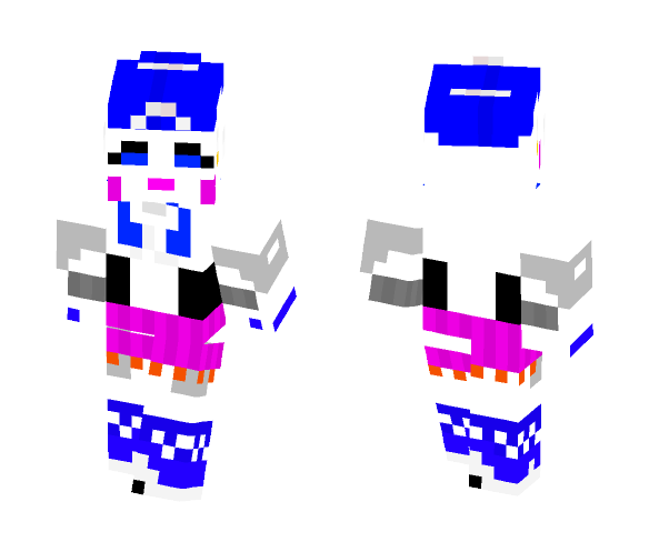 Download FNAF sister location Ballora Minecraft Skin for