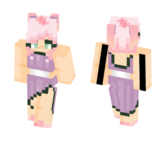 Pastels are formal right? RIGHT? - Female Minecraft Skins - image 1