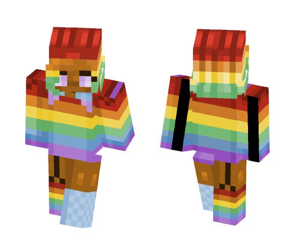 gay pride - Female Minecraft Skins - image 1