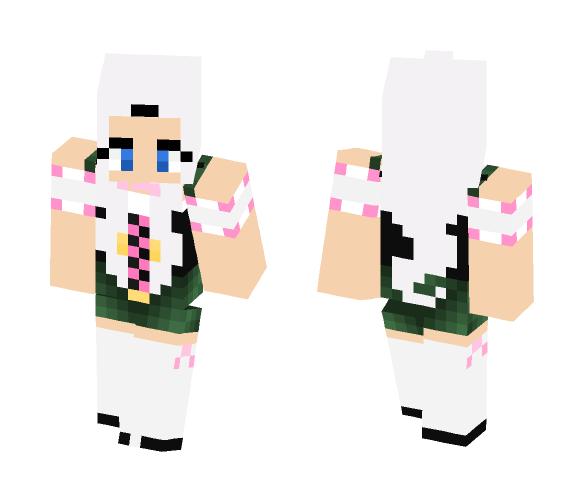 Mirajane Strauss Halloween Costume - Halloween Minecraft Skins - image 1