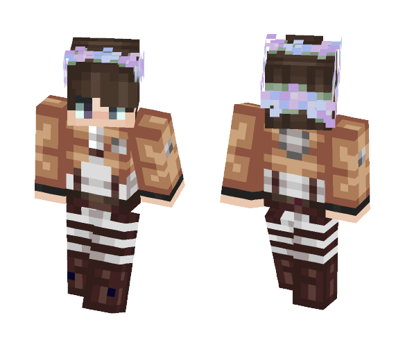 Download Attack on titan Minecraft Skin for Free ...