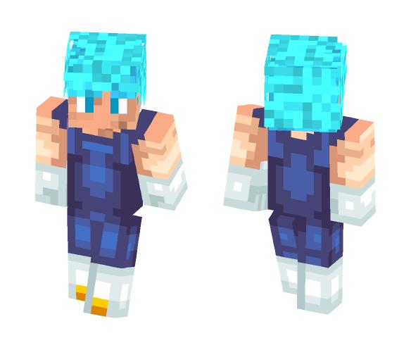 Vegeta SSGSS ~ Anthonny - Male Minecraft Skins - image 1