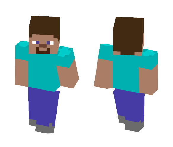 Basic Steve - Male Minecraft Skins - image 1