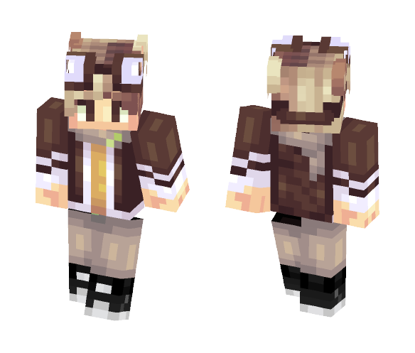 WWII Airplanes Pilot - Male Minecraft Skins - image 1