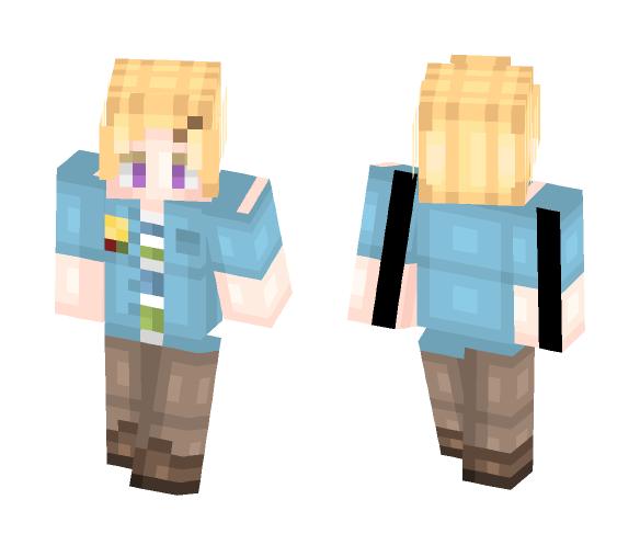 Yoosung Kim - Mystic Messenger - Male Minecraft Skins - image 1