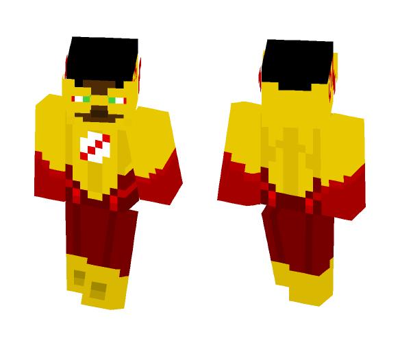 Kid Flash (Cw) - Comics Minecraft Skins - image 1