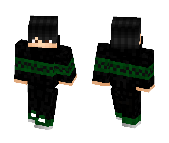 Black Suit boy PvP - Male Minecraft Skins - image 1