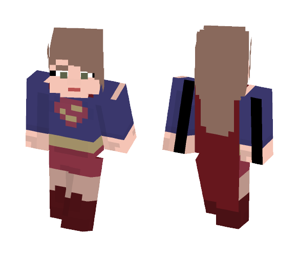 SuperGirl CW - Supergirl - Female Minecraft Skins - image 1