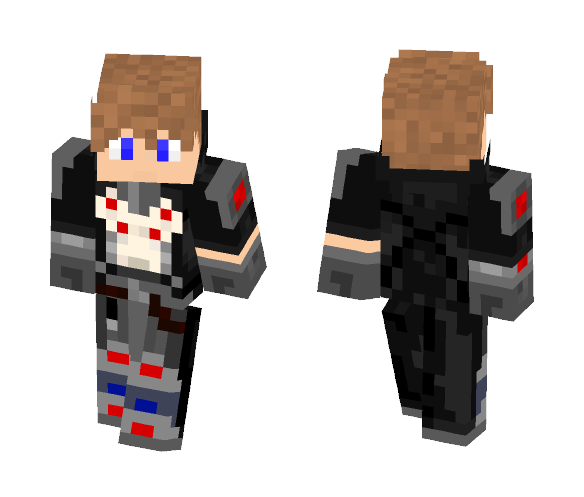 If i were in Overwatch - Male Minecraft Skins - image 1