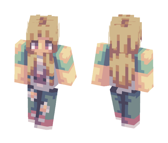My shading is so inconsistent oml - Female Minecraft Skins - image 1