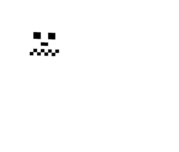 minecraft scary skin