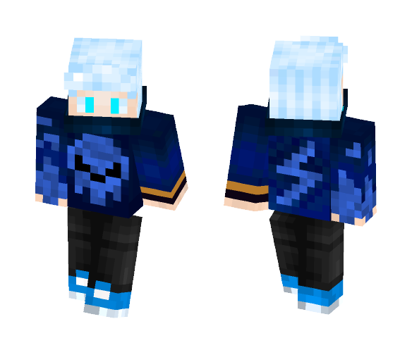 Mi PvP skin - Male Minecraft Skins - image 1