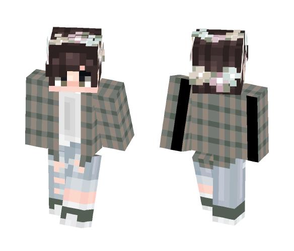 Download Cute Tumbrl Boy Lostgirldream Minecraft Skin For Free Superminecraftskins