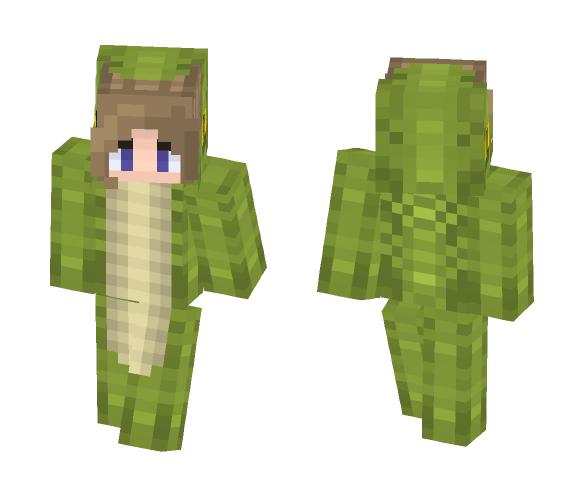 Crocodile/// Male + Female Versions - Interchangeable Minecraft Skins - image 1