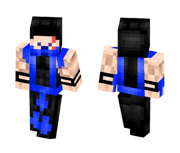 sub zero Mortal Kombat 4 - Male Minecraft Skins - image 1