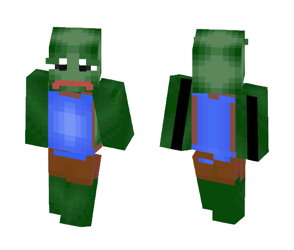 Download Pepe The Frog Minecraft Skin For Free Superminecraftskins