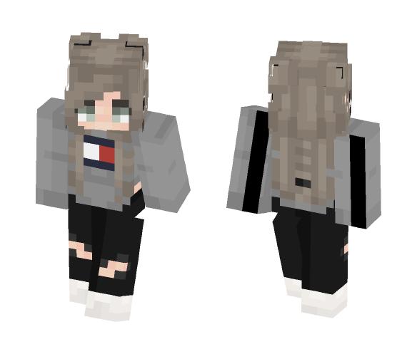 Kiara ♡ ☾Outfit #3☽ - Female Minecraft Skins - image 1