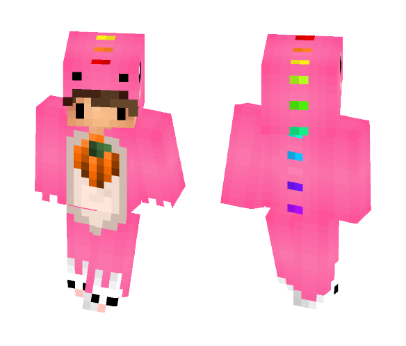 Chibi Pumpkin - Male Minecraft Skins - image 1