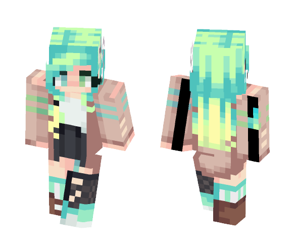 Toxic | Fanskin for Oblivion - Female Minecraft Skins - image 1