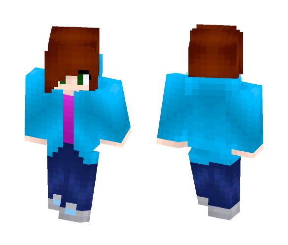 Download Blue Hoodie Girl Minecraft Skin For Free Superminecraftskins