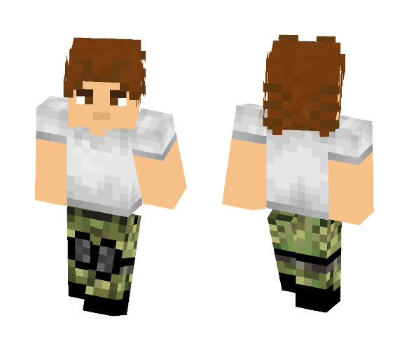 Survivor - Male Minecraft Skins - image 1