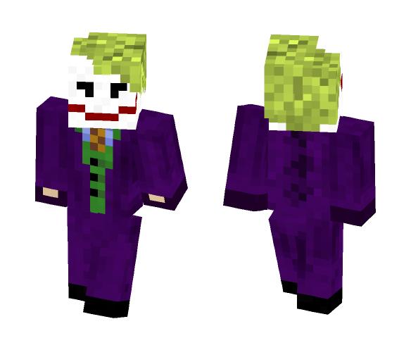 (Heath Ledger) Joker - Male Minecraft Skins - image 1