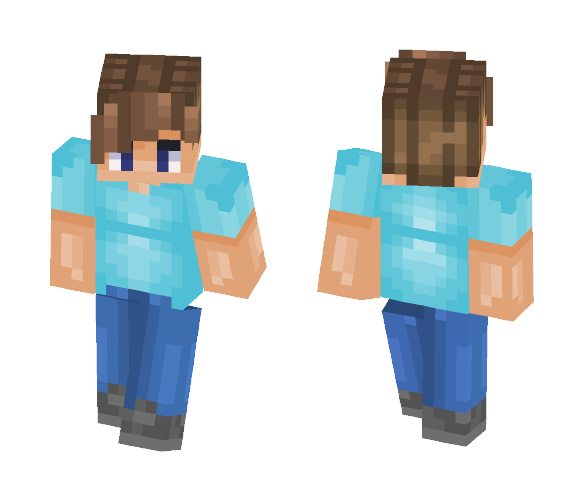 Download Reshading A Steve Skin Minecraft Skin For Free