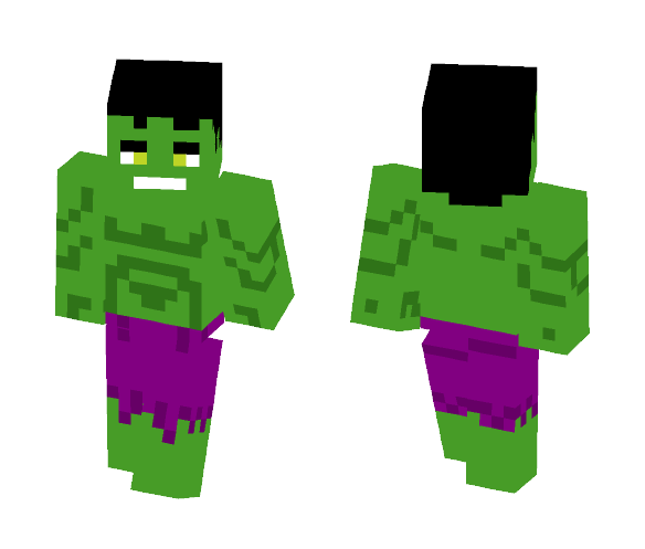 Hulk [MEGO, First Appearance] - Comics Minecraft Skins - image 1
