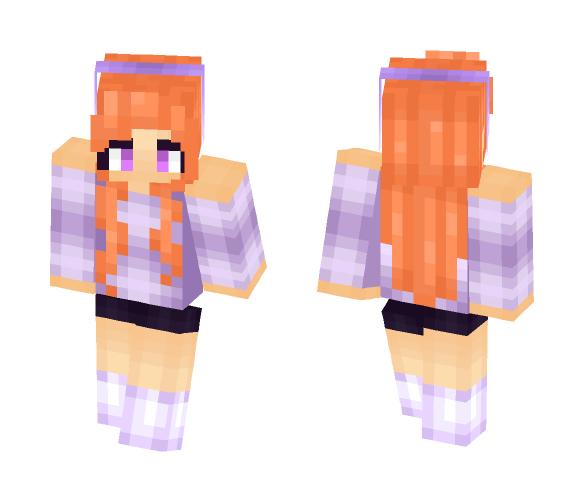 Dance of the Violet ✧Aní✧ - Female Minecraft Skins - image 1